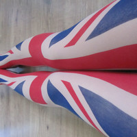 UK Flag Tattoo Tights