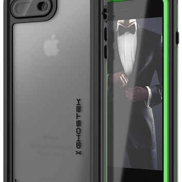 iPhone 8+ Plus case, Ghostek®  Nautical Series  for iPhone 8+ Plus Rugged Heavy Duty Case |  GREEN
