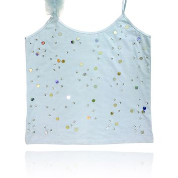 [ PRE ORDER *] DOLLY by Le Petit Tom ® True Ballerina top light blue