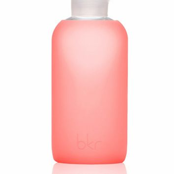 BKR Silicone + Glass Water Bottle in Crush