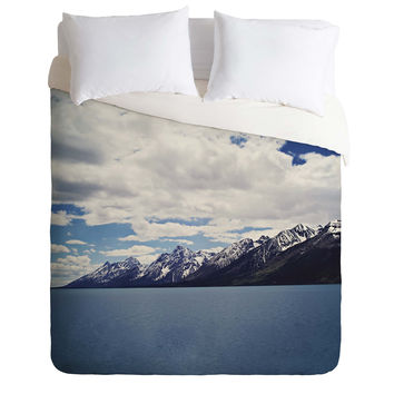Leah Flores Grand Tetons X Colter Bay Duvet Cover