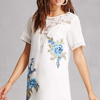 Selfie Leslie Embroidered Dress