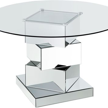 Haven Chrome Dining Table