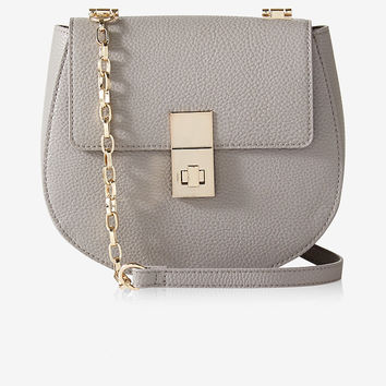 Turnlock Cross Body Bag