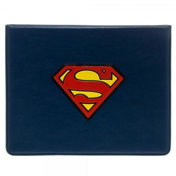 Superman Logo Blue Ipad Sleeve Case Officially Licensed