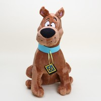 Hot 13'' Soft Plush Cute Scooby Doo Dog Dolls Scooby soft Stuffed Toy doll for kids New Christmas Gifts