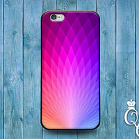 Beautiful Hexagon Phone Case Cute Purple Pink Cover iPod iPhone 4 4s 5 5s 5c 6 +