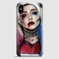 Harley Quinn Art iPhone X Case