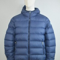 North Sails AW17 North Super Light Hooded Jacket In Navy