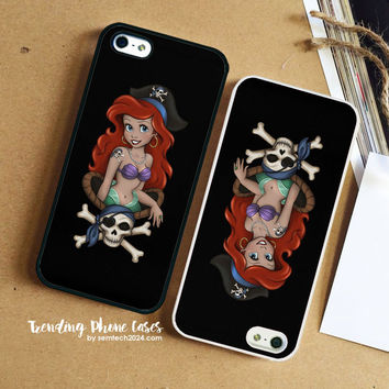 Pirate Ariel  iPhone Case Cover for iPhone 6 6 Plus 5s 5 5c 4s 4 Case