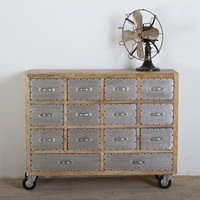 Amritsar Reclaimed Wood 14 Drawer Dresser - Bedroom
