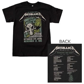Metallica Pittsburgh Arena T-Shirt