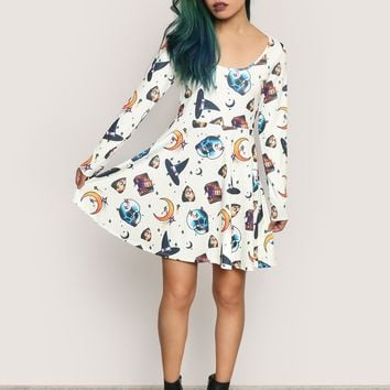 Gypsy Warrior x Sad Boy Kurt Mini Dress - Gypsy Warrior x Sad Boy Kurt - Collabs at Gypsy Warrior