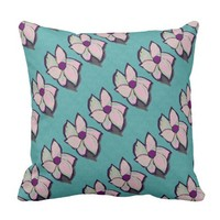 Abstract Flower pattern Pillow