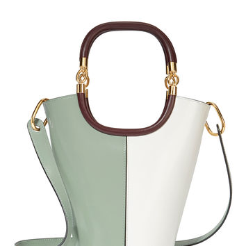 Maili Colorblock Medium Bucket Shoulder Bag