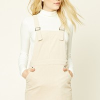 Corduroy Overall Mini Dress