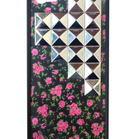 Rose Buddies Silver Studded Pyramid iPhone 5/5s Case