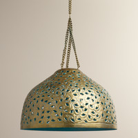 Desiree Metal Bell Pendant Lamp - World Market