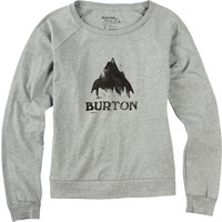 Stamped Mountain Slouchy Long Sleeve T Shirt - Burton Snowboards