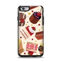 The Yummy Dessert Pattern Apple iPhone 6 Otterbox Symmetry Case Skin Set