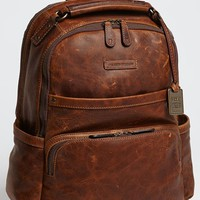 Men's Frye 'Logan' Leather Backpack