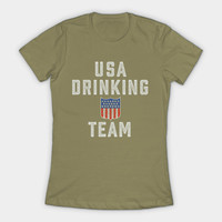 USA DRINKING TEAM by kernitworks