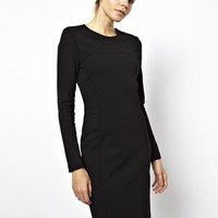 y Line Sihouette Dress