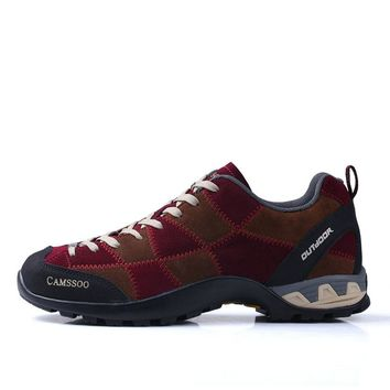 Autumn Winter Man Hiking Shoes Outdoor Shoes Waterproof Breathable Mountain Shoes Hunting Boots