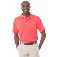 Roster Performance Polo in Sunset by Southern Tide