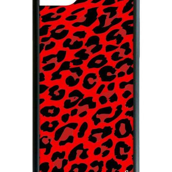 Red Leopard iPhone 6/7/8 Case