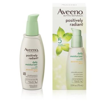 Aveeno Positively Radiant Daily Facial Moisturizer With Broad Spectrum Spf 30, 2.5 Fl. Oz - Walmart.com