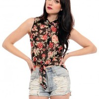 Laurel Blossom Blouse - Tops - Clothes   GYPSY WARRIOR