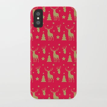 Winter Joy iPhone Case by printapix