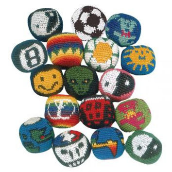 Assorted 3 Pack of Hacky-Sacks