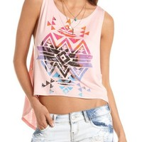 Hi-Low Aztec Graphic Muscle Tee: Charlotte Russe