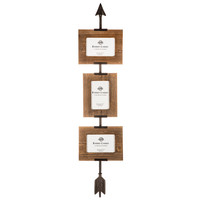 Brown Arrow Triple Wall Frame | Hobby Lobby