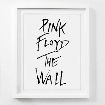 Poster , PINK FLOYD THE WALL