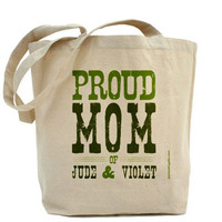Proud Mom Of {Personalized With Any Names} by PamelaFugateDesigns