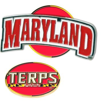 Maryland Terrapins Slider Hat Clip