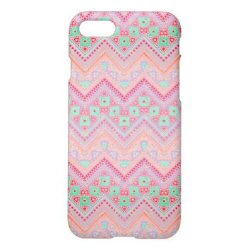 Purple Midwest Chevron iPhone 7 Case