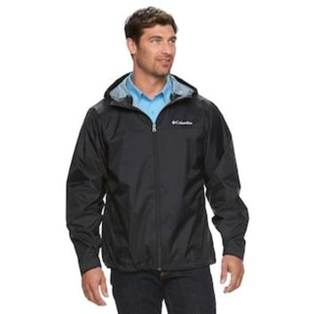 DCCKX8J Men's Columbia Weather Drain Rain Jacket | null