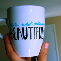One Direction That's What Makes You Beautiful mug by CreateAmero