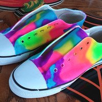 Neon Lava Lamp Sneakers