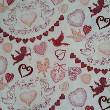 CUPIDS ARROW Kate Ward Thacker Next Day Art for Springs Creative 100% cotton quilting fabric 1 yard