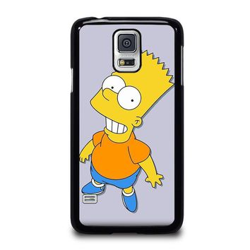 bart simpsons samsung galaxy s5 case cover  number 1