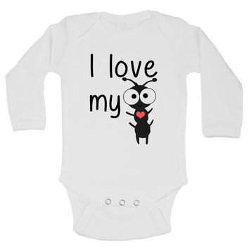 I Love My Aunt Funny Kids Onesuit