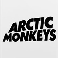 Arctic Monkeys Logo Black by Nathan Rogers