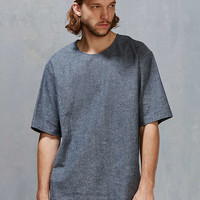 Shades Of Grey By Micah Cohen Woven Tee - Urban Outfitters