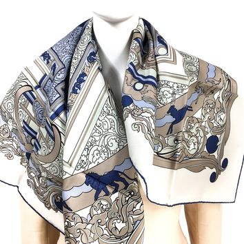 Animaux Solaires Hermes Silk Scarf NIB