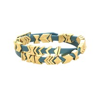 House of Harlow 1960 Jewelry Aztec Wrap Bracelet